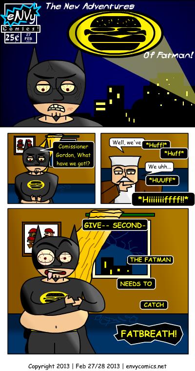 [Flashy logo, a la Adam West Batman: