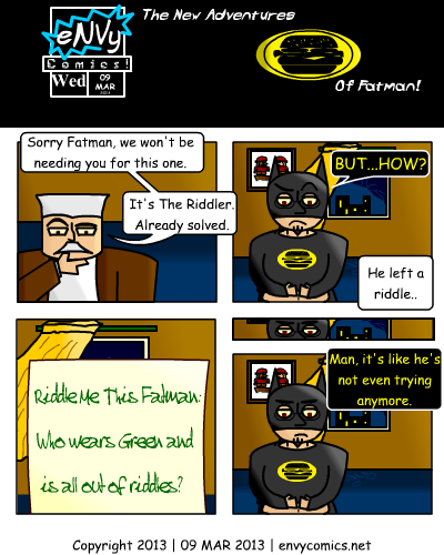 [The New Adventures of Fatman][Commissioner Gordon: